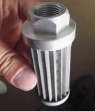 Filtro del cilindro del acoplamiento de alambre de metal