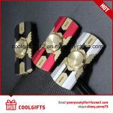 Brinquedos de venda quentes da mão do girador da inquietação do metal da liga