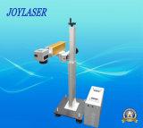 생산 라인을%s 온라인 비행 Laser 표하기 기계
