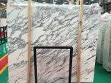 Le marbre blanc de Arabascata pour salle de bains en marbre