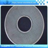 酸抵抗のステンレス鋼フィルターディスク