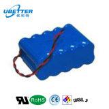 18.5V 15.6A 18650 de IonenBatterij van het Lithium voor e-Hulpmiddelen