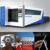 tagliatrice del laser della fibra dell'acciaio inossidabile 2kw di 8mm GS-Lfds3015