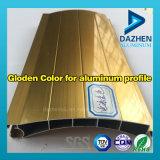Couleur de cuivre rouge pour le traitement extérieur personnalisé par profil en aluminium d'alliage d'extrusion