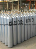 Gasfles van de Stikstof/van de Zuurstof/van het Acetyleen/van het Argon van het Staal van het Merk van Dsw de Naadloze 40L