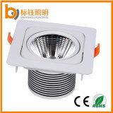 アルミ合金の点ライト10W高い発電LEDの正方形の穂軸Downlight