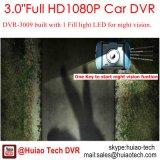 Caliente 3.0inch de aleación de zinc de coches caja negra en el coche Dash DVR con Novatek96650 Chipset, 5.0mega Ar0330 CMOS cámara de coche, detección de movimiento, DVR móvil 3009