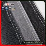 Tissu en jean tricot à dos de Spandex à 5% pour jeans