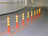 столб Delineator движения столба ЕВА отражательного гибкого столба 75cm предупреждающий