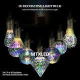 Ampoule colorée de feux d'artifice de la lampe décorative de fantaisie neuve 2W ST64 DEL