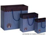 Sac à main de papier de qualité pour le vêtement/cadeau