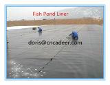 Revestimento de geomembrana HDPE com superfície lisa