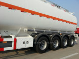 4 Eixo Fuel Tanker Oil Diesel Transport Semi Tank Trailer