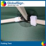 製造業者の習慣によって印刷されるポップアップロゴの鋼鉄テント