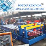 1035 Máquina De Forma De Rolos De Telha De Telha De Aço Glacê Colorida De Alta Qualidade