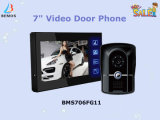 Ruft 7 Zoll verdrahtete Farben-Video-Gegensprechanlage-Tür Türklingel mit Videokamera an