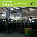 Gesponnene Beutel der pp.-Imbißbeutel überschüssiger Plastik, die Maschine aufbereiten