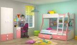 Двойная двухъярусная кровать для детей в спальне (Райт)