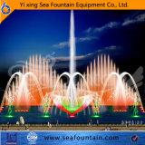 Veränderbarer interaktiver Musik-Brunnen mit Wasser-Bildschirm-Film