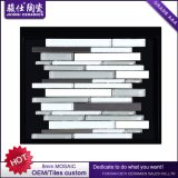 Mosaico di marmo di pietra naturale di nuovo colore Mixed della ceramica di Juimsi per le mattonelle della parete della priorità bassa
