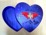 Caixa de papel dos doces Shaped feitos sob encomenda do casamento do coração