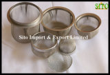 ステンレス鋼の編まれた金網のフィルター素子