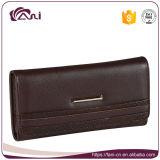 Бумажника женщин цвета кофеего тавра типа Fani бумажник PU длиннего кожаный для повелительницы