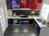 現代光沢度の高いカスタム現代的な台所デザイン