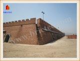 붉은 벽돌 발포를 위한 Haffmann 새롭 디자인된 킬른