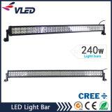 Lumière imperméable à l'eau 10-30V DEL tous terrains de barre de la barre DEL d'éclairage LED fonctionnant le guide optique