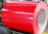 La couleur rouge galvanisé prélaqué bobines en acier inoxydable