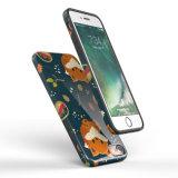 Изготовленный на заказ напечатанная крышка мобильного телефона TPU на iPhone 7