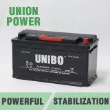 DIN100 sin necesidad de mantenimiento 12V100ah, alta calidad, automóvil de la frecuencia intermedia, batería de coche