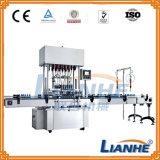 Llenador/capsulador/rotulador automáticos llenos para la línea de embotellamiento líquida