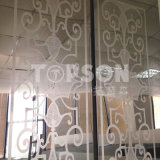 placa de acero inoxidable decorativa 201 304 316 con el final grabado al agua fuerte espejo 8k