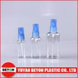 100ml leeren transparente ovale flache Plastikflasche (ZY01-A003)