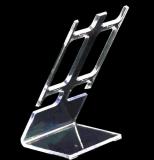 Акриловый стеллаж для выставки товаров держателя Wristwatch браслета ювелирных изделий