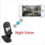 Mini camma del video di visione notturna della babysitter di obbligazione della macchina fotografica del IP di WiFi della rete wireless del Portable Q7