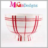 Ciotola decorativa della caramella dell'insalata di ceramica