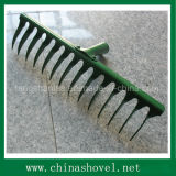 Rake Head Twist Teeth Garden Rake Head