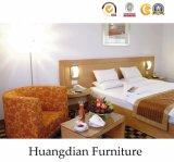 商業使用によってカスタマイズされる木のホテルの寝室の家具(HD428)