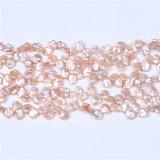 Конструкция ювелирных изделий Strandfor Costum перлы цвета пресноводных стренг перлы Keshi розовая