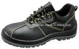 Cuoio spaccato impresso caviglia bassa con il cuoio della gomma o dell'unità di elaborazione
