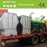 アフリカの1500KG/Hourペットびん洗浄ラインリサイクルプラント