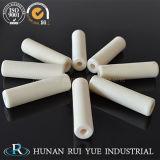 Tubo de cerámica el 99% Al2O3 del óxido de aluminio para las altas aplicaciones de la obstinacia