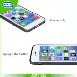 PC+TPU 변호인 호리호리한 기갑 iPhone 7 더하기 탄소 섬유 뒤 전화 상자를 위한 내진성 이동할 수 있는 상자 덮개