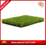 完全な景色の偽造品の人工的な草の泥炭