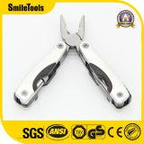 Alicates de Multitool, faca Pocket ajustada com jogos da faca da ferramenta da lanterna elétrica do diodo emissor de luz os mini multi