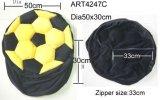 أسود وأصفر كرة قدم كرسي تثبيت تغطية منزل زخرفة هبة