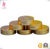 Подгонянные самые лучшие разные виды золота крышек логоса металла